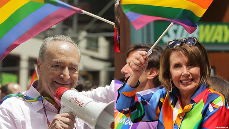 查克·舒默(Chuck Schumer)和南希·佩洛西(Nancy Pelosi)
