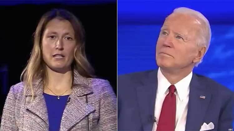Mieke Haeck和Joe Biden