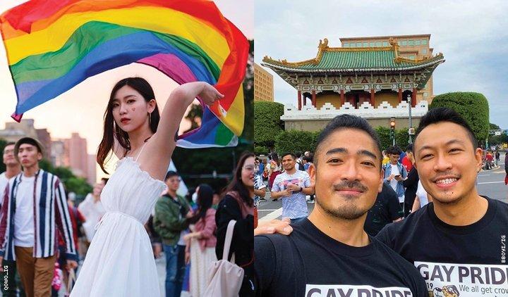 台湾LGBTQ +人民庆祝骄傲