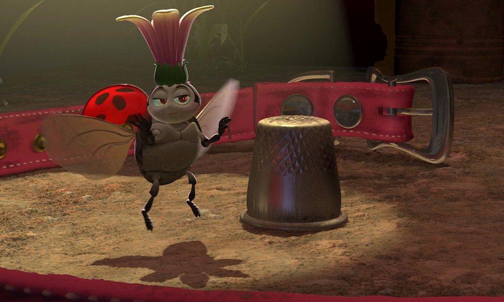 皮克斯(Pixxar)的《虫虫的生活》中的弗朗西斯