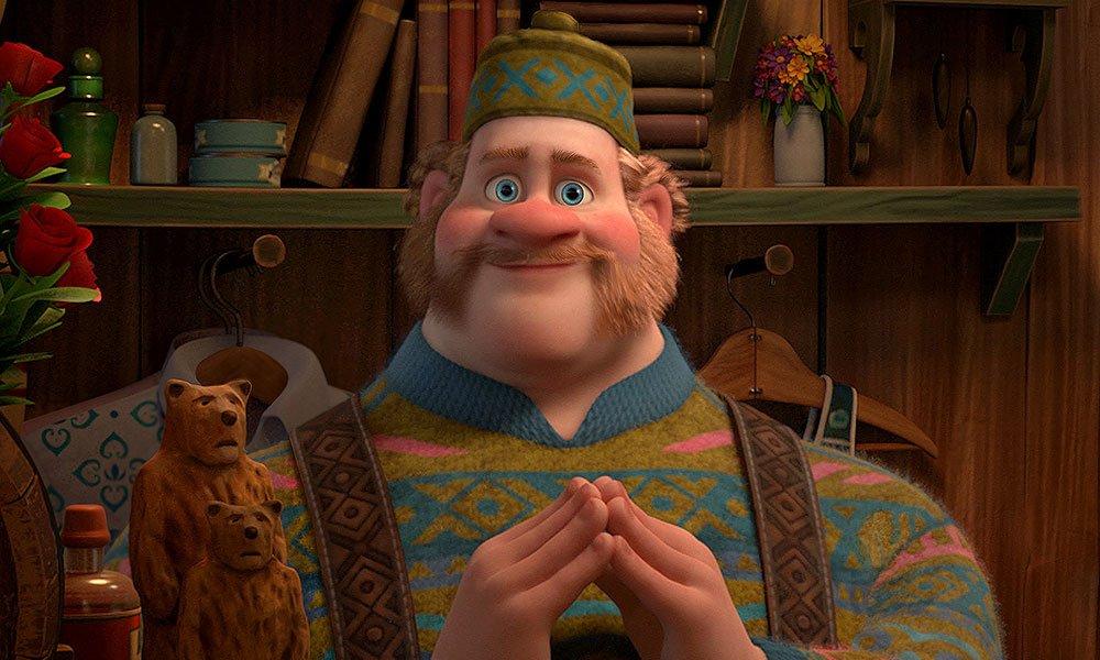 迪士尼《冰雪奇缘》中的奥肯