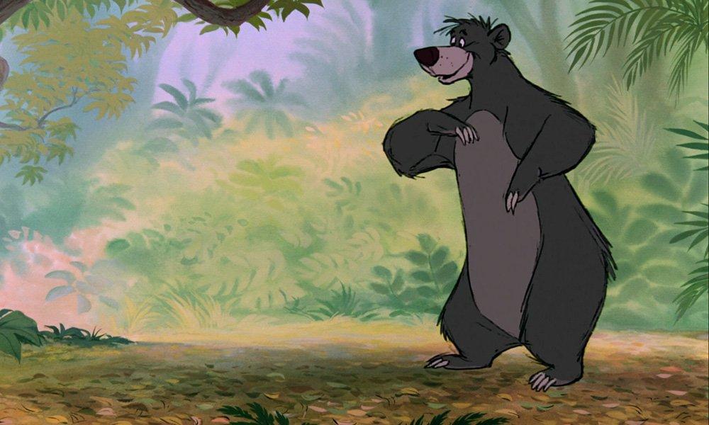 迪士尼《丛林书》中的Baloo