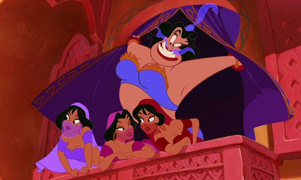 迪士尼《阿拉丁》中的精灵