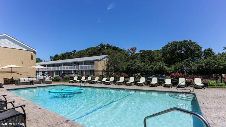 普罗温斯敦马萨诸塞州的开普殖民地旅馆