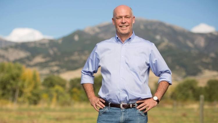 蒙大拿州州长Greg Gianforte
