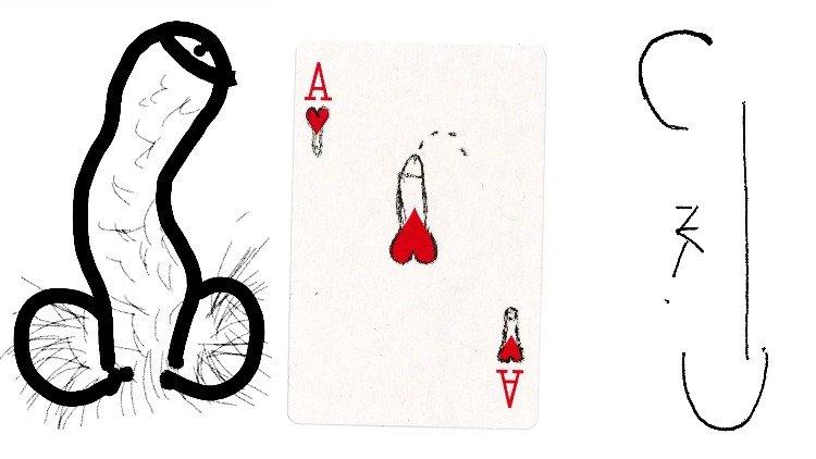 """名人在艺术家多米尼克·迈亚特(Dominic Myatt)的""""阴茎论文""""中向我们展示他们的阴茎"""